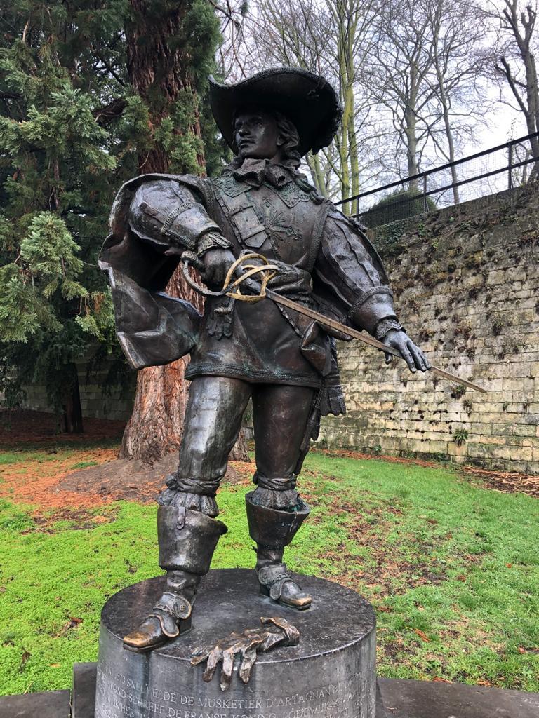 d'Artagnan, Maastricht